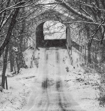 Kennedy Covered Bridge built in  Still in use in Rush County IN