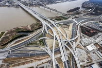 Kennedy Interchange Spaghetti Junction - Louisville KY