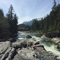 Kennedy River British Columbia Canada