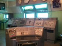Kennedy Space Center Then amp Now tour historic Mercury program blockhouse interior