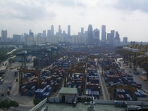 Keppel Container Terminal Singapore - one of the busiest ports in the world