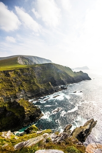 Kerry Cliffs in Portmagee Ireland