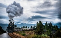 Kettle Valley steam locomotive British Columbia