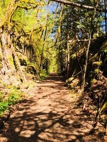 Kettle Valley Trail Hope British Columbia