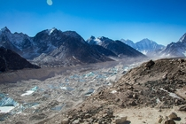 Khumb Glacier one of my favorite images while we trek to Everest Base Camp