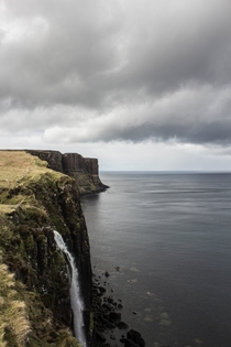 Kilt Rock and Waterfall Isle of Skye x