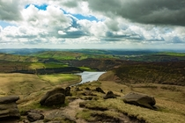 Kinder Scout Peak Districk UK OC  X