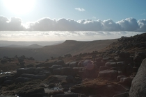 Kinder Scout Peak District UK