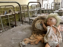 Kindergarten napping room Chernobyl exclusion zone