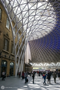 Kings Cross Station London  Photographed by Roman Soowiej