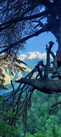 Kinnaur Himachal India a glimpse of Himalayas