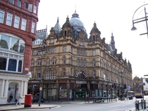 Kirkgate Market in Leeds England Designed by Joseph and John Leeming and built during Leeds hay-day as a textiles and industrial manufacturer in the mid s it still stands as the largest covered market in Europe today