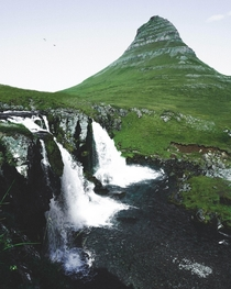 Kirkjufell is Icelands most photographed mountain Here is my contribution to that stat