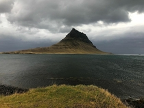 Kirkjufell mountain on the north coast of Icelands Snfellsnes peninsula