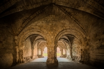 Kirkstall Abbey Chapter House England
