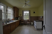 Kitchen Inside an Abandoned Ontario Time Capsule House