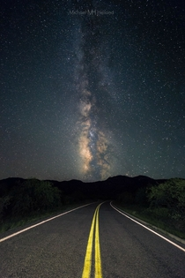 Kitt Peak Road Arizona