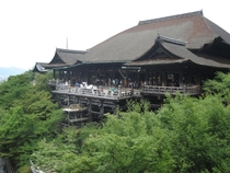 Kiyomizu-dera Pure Water Temple in Kyoto Built in  this Buddhist temple was constructed without any nails