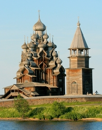 Kizhi Church All wood no nails Russia