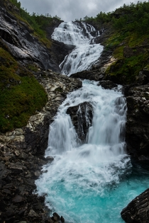 Kjosfossen in Aurland Norway