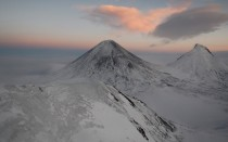 Klyushevskoy - the highest volcano in Eurasia Russia Kamchatka