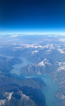 Knight Inlet Western BC from