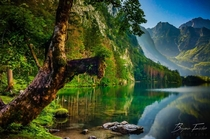 Knigssee German Lake of the King - Schnau Germany Photo by Benjamin Fischer
