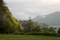 Kodiak Island Alaska in may at  am