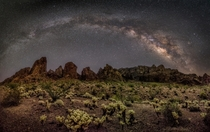 Kofa Mountains Arizona by Michael Wilson