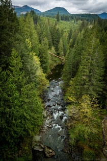 Koksilah River Valley Vancouver Island