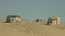 Kolmanskop ghost town was once a booming diamond rush settlement in the Namib desert present-day Namibia Africa