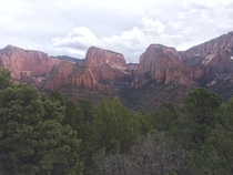 Kolob Canyon Zion National Park UT USA