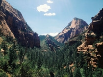 Kolob Canyons Zion National Park Utah