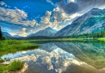 Kootenai Lakes Waterton Valley Montana by Walt Landi