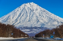 Koryaksky Volcano on the Kamchatka Peninsula Russian Far East  - photo by Artyom Dyakiv