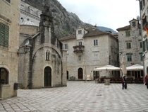 Kotor Montenegro - Old Town Center