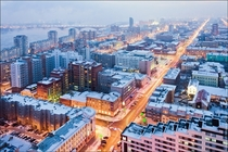 Krasnoyarsk the largest city in Siberia
