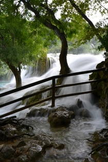 Krka river Croatia