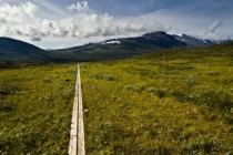 Kungsleden a  km long hiking path in Northern Sweden