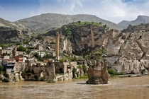 Kurdish village of Hasankeyf Batman Kurdish lih Turkey est  BC