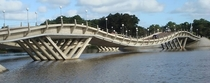 La Barra Bridge in Uruguay built in