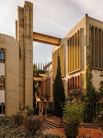 La Fbrica an old cement factory in Spain transformed by architect Ricardo Bofill -