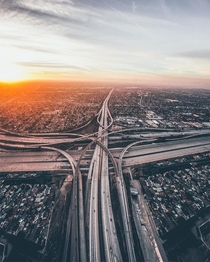 LA Freeway Photo by Dylan Schwartz