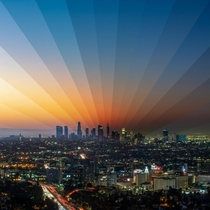 LA in the AM This is a time-lapse photo I took a couple of months ago