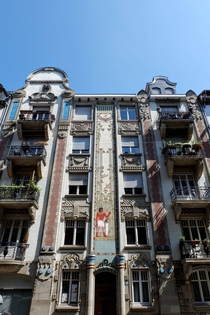 La Maison gyptienne The Egyptian House in Strasbourg France An exotic Art Nouveau work finished in