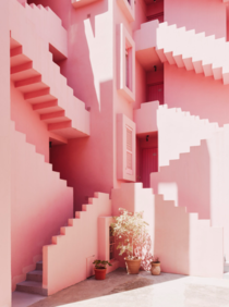 La Muralla Roja by Ricardo Bofill in Costa Blanca Spain