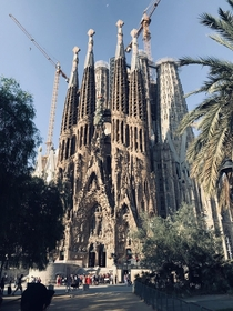 La Sagrada Famlia Barcelona Spain