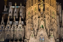 La Segrada Familia Roman Catholic Church in Barcelona Spain Architect Antoni Gaudi photo by Takashi Nakagawa