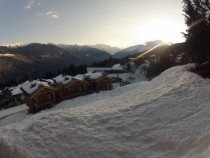 La Tania in Winter - Im no professional photographer but this was one hell of a sight to wake up to