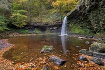 Lady Falls in Brecon Beacons Wales UK - By Adam Burton